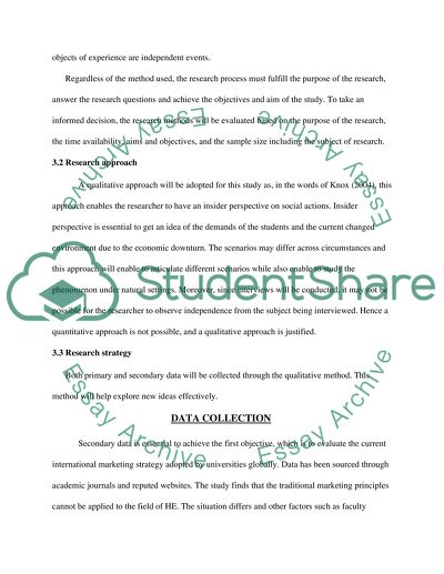 DISSERTATION (Research Methodology )