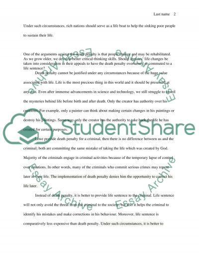 Philosophy: Report essay example