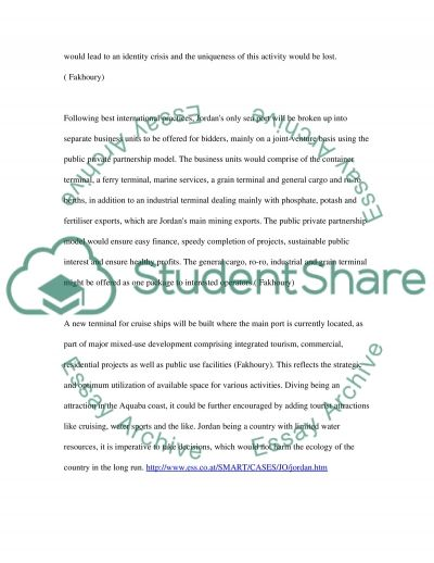 Business Project Assignment essay example