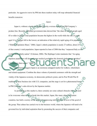International business and economy Essay example