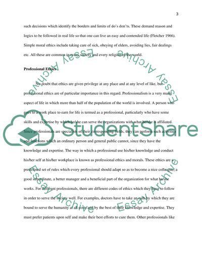 sincerity and professional ethics essay example  topics and well  sincerity and professional ethics