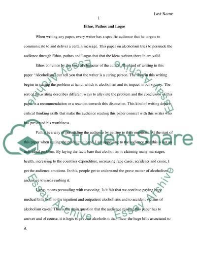 ethos pathos logos essay outline homework example ethos pathos logos essay outline