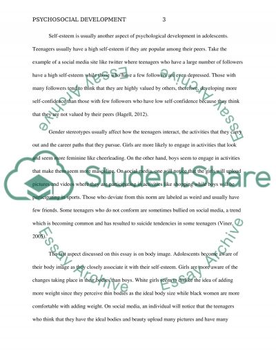 essay on adolescence period Adolescence essay essays: adolescence essay an adolescence is period of physical and psychological development from the onset of puberty to maturity.