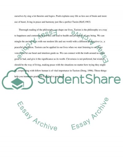 taoism essay example topics and well written essays words taoism essay example text preview