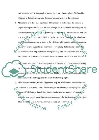 A compare/contrast essay about 2 restaurants professional problem solving writers sites online