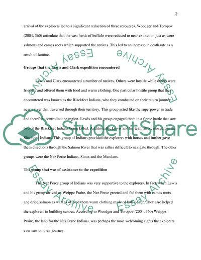 Lewis and clark persuasive essay