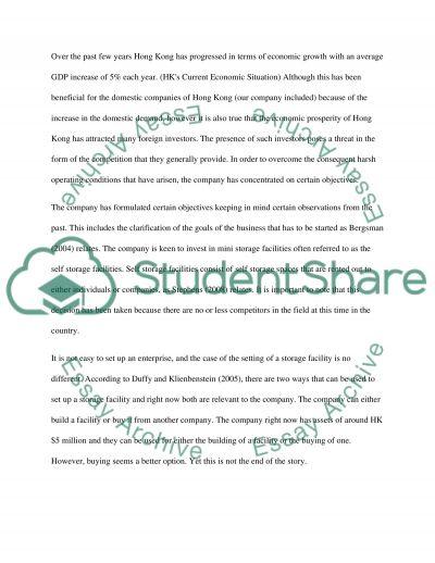 MBA Entrepreneurship essay example