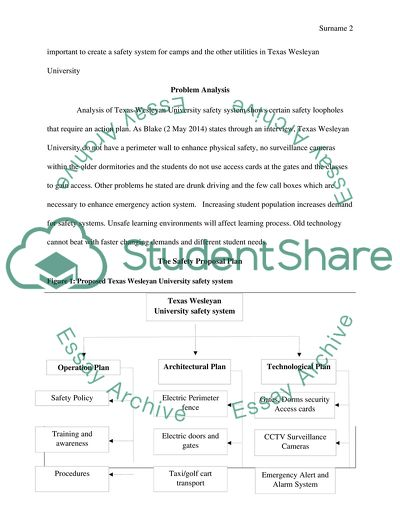 Proposal Assignment ( University Safety System )