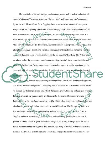 English literary essay example