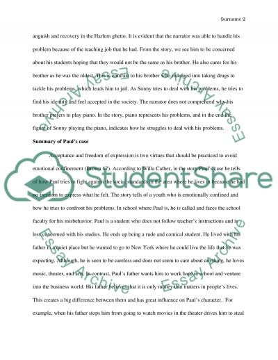 short stories summary essay example - Short Story Essays Examples