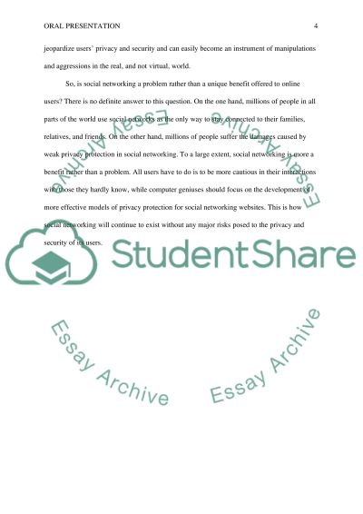 Social networking and privacy essay Scribd