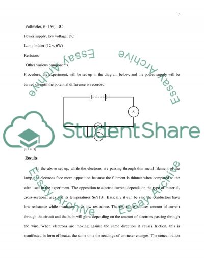 Physics paper essay example