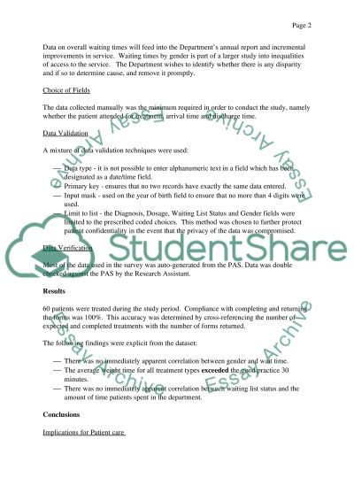 IT Essay example