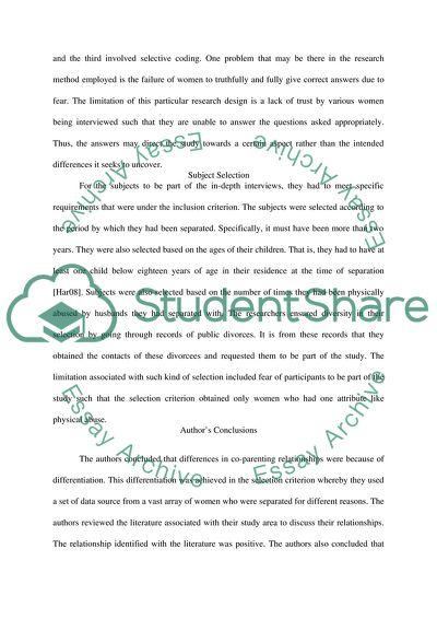 Effects Of Divorce Term Paper Topics