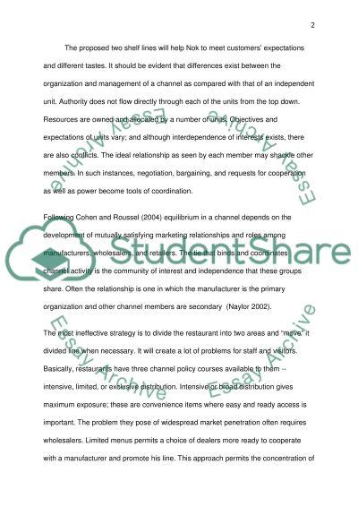 Operartional management essay example
