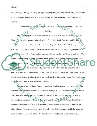 DIABETES LITERATURE REVIEW essay example