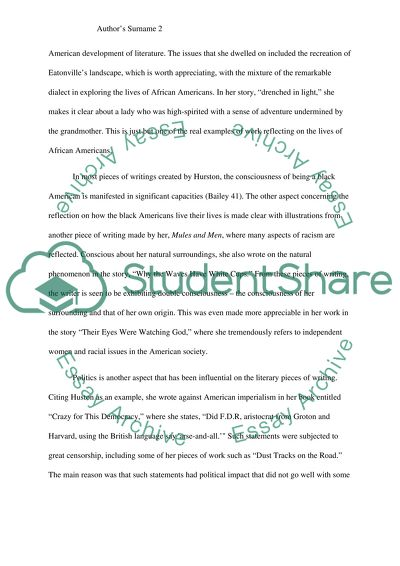 Essay on african american literature fast food conclusion for essay