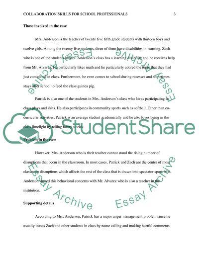 Collaboration Skills for School Professionals