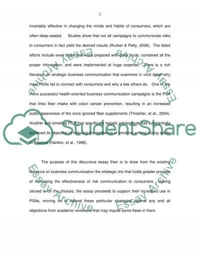 Strategic Business Communication Essay essay example