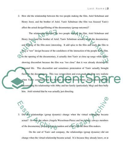 Catfish Reflection Paper