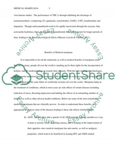 Medical Marijuana Essay essay example