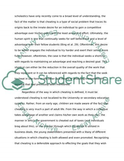 Academic Misconduct