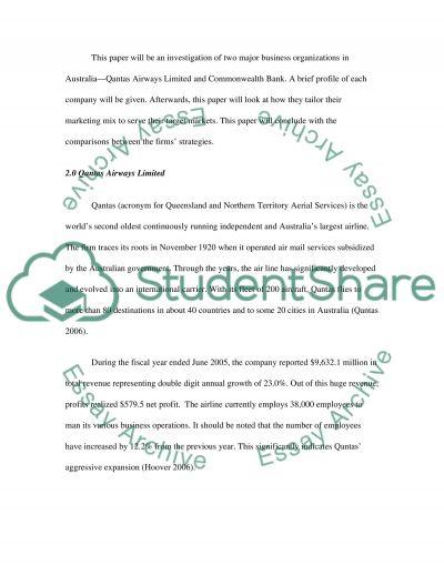 Marketing Mix Essay essay example