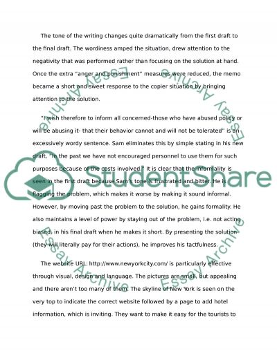 Technical Writing Essay example