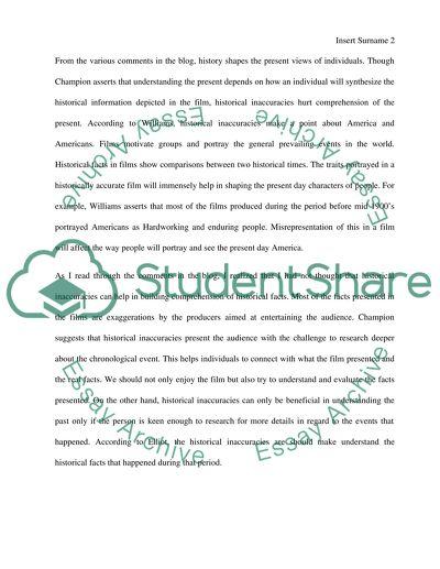 Respond to classmates