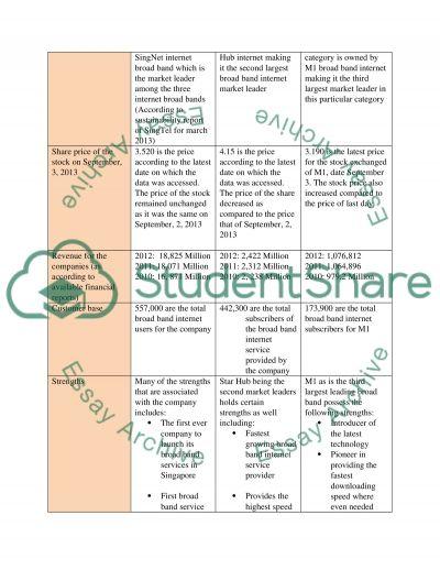 Strategic Marketing (SBU Competition) essay example