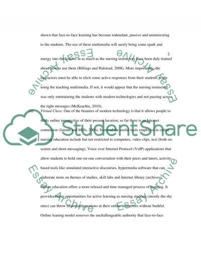 Multimedia essay example