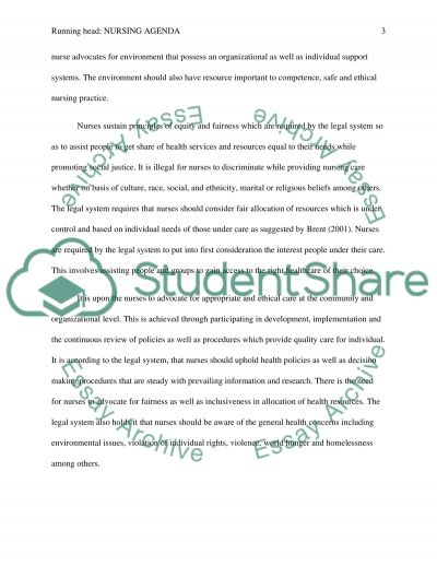 Treatment of Older People  Essay example