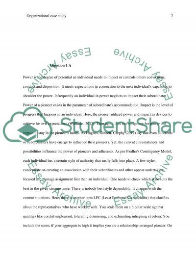 Organizational Behavior (OB) Final Paper