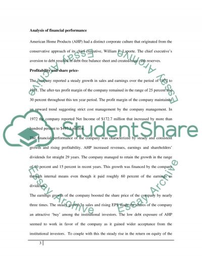 CASE STUDY essay example