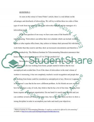 Pervasive Computing Case Study essay example