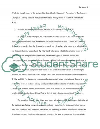 Educational Research. Correlational Research From Other Types Of Research essay example
