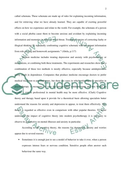 Mental Health and Mental Disorders essay example