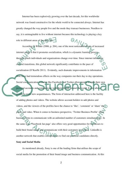 Digital and Marketing Communications essay example