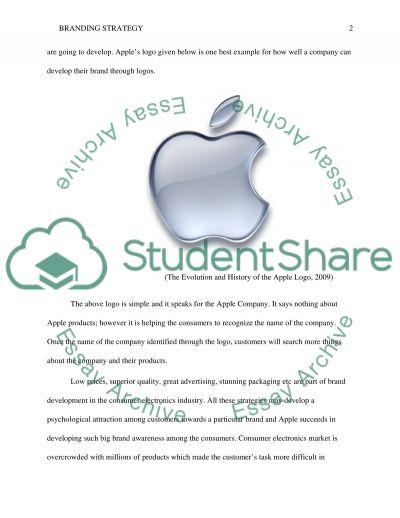 Branding strategy essay example