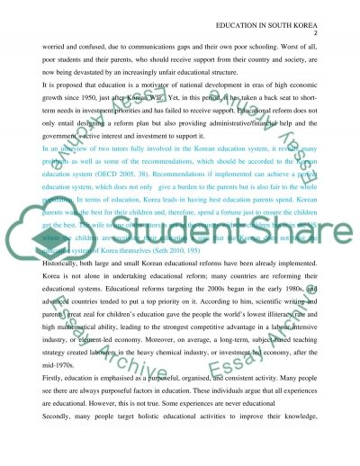 Healthy Eating Essay South Korean Students Wracked With Stress Al Jazeera English All About Essay  Example Tonio Vega Flickr Examples Of Essay Format also Against Euthanasia Essay Teaching Paragraph Writingparagraph Writing For Kidseasy  Best Essay Writing Services