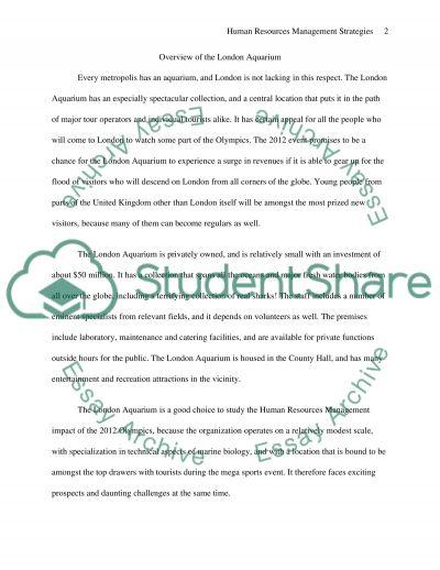 Impact of London Olympics 2012 essay example