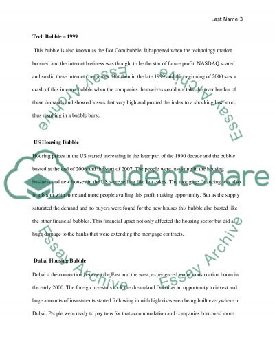 bubble he essay example