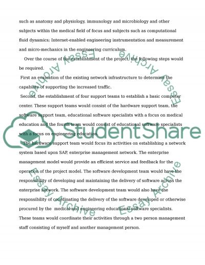 Implementation and Evaluation of WebBased technologies in teaching medical and engineering students essay example