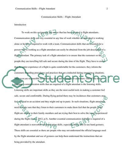 Essays on communication skills