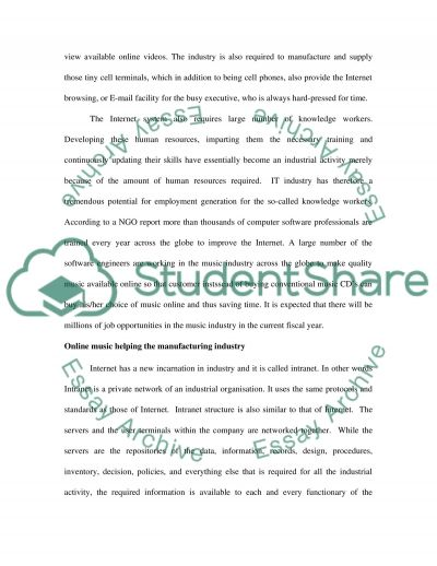 Online Multimedia Essay example