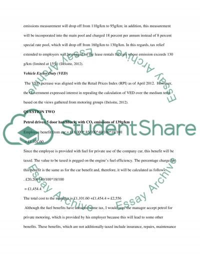 Coursework essay example