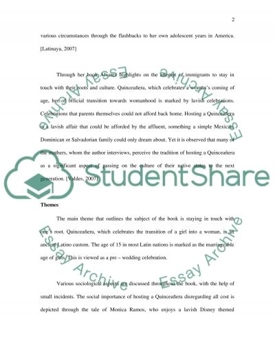 Once Upon A Quinceaera essay example