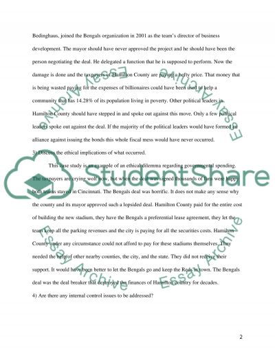 Paul Brown Stadium Essay example