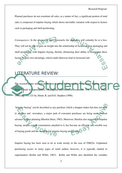 Dissertation proposal either in marketing, Finance or internantional. business MBA level