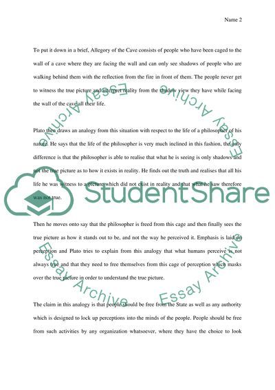 Analysis Of Platos Allegory Of The Cave Essay Example  Topics And  Analysis Of Platos Allegory Of The Cave Academic Ghostwriter also Business Plan Writers For Non Profits  Writing Service Plans For Emotionaly Disturbed Children